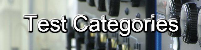 Tests Categories