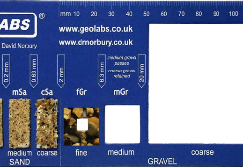 Geolabs - Particle Size Indicator